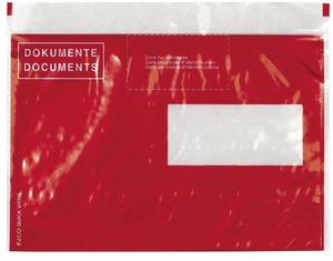 Elco Quick Vitro Dokumententaschen rot, 2902480