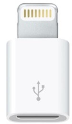 Apple Lightning to Micro USB Adapter MD820ZMA