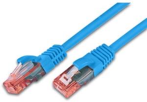 Wirewin Patchkabel: UTP 0.25m blau PKW-UTP-KAT6025BL