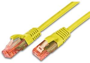 Wirewin Patchkabel: UTP 0.5m gelb PKW-UTP-KAT605GE