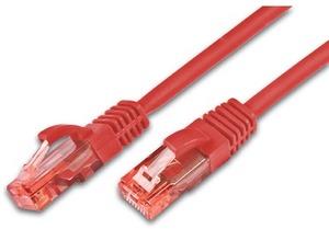 Wirewin Patchkabel: UTP 0.25m rot PKW-UTP-KAT6025RT