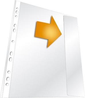 DURABLE Prospekthülle A4 transparent 266419