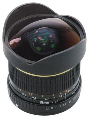 Dörr Fisheye Objektiv 8mm f 3.5, für Canon 361005