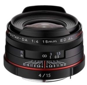 Ricoh HD DA 15mm / f 4.0 ED AL schwarz 21470