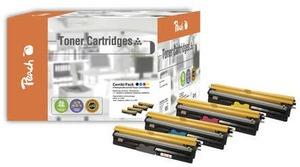 PEACH Toner 4425072 Combi Pack bk, c, m, y 110878