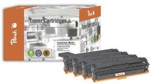 PEACH Toner CB54A- Serie Combi Pack 110849