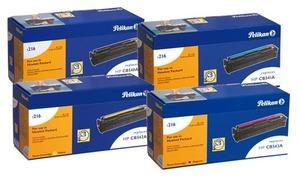 Pelikan Pelikan Toner-Set bestehend aus je 1x CB540A, CB541A, CB542A, CB543A PelikanCB540Aset