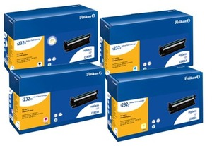 Pelikan Toner Set bestehend aus je 1x CE400X, CE401A, Ce402A, CE403A PelikanCE400Xset