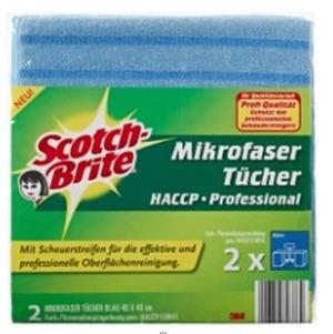 Scotch Scotch-Brite Mikrofasertücher Profi MFU14LCC