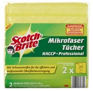 Scotch Scotch-Brite Mikrofasertücher Profi MFU14YCC