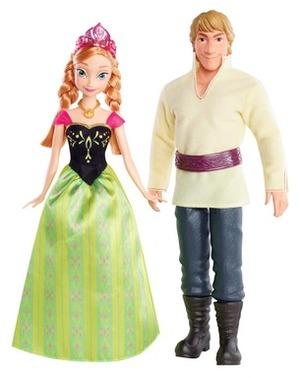 """Disney Die Eiskönigin Disney Die Eiskönigin Anna und Kristoff aus """"Die Eiskönigin"""" ab 3 Jahren 57000235"""
