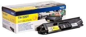 Brother Toner TN-326Y für HL-L8250CDN/L8350CDW/DCP-L8400 CDN/L8450CDW/MFC-L8650CDW/ L-8850CDW high capacity TN326YA1