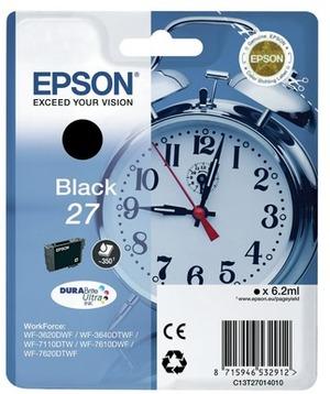 EPSON Epson Ink DuraBrite, Black 27 C13T27014010