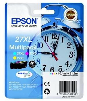 EPSON Ink Cart. C13T27154012 für WF-3620DWF/3620WF/ 3640DTWF/7110DTW/7610DWF/ 7620DTWF (C/M/Y) XL C13T27154012