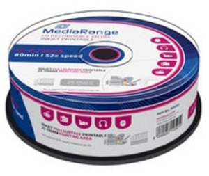 MediaRange CD-R 700MB/80Min, 25er Spindel MR202