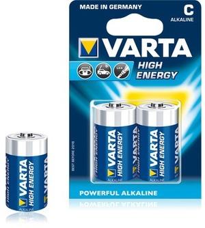 VARTA High Energy Alkaline Batterie Baby C 4914121412