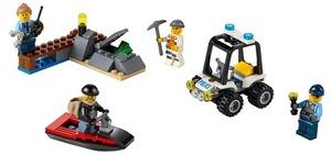LEGO Gefängnisinsel Starter-Set Lego City, 5-12 Jahre 60127