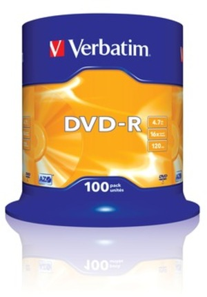 Verbatim DVD-R Spindle 4.7GB 43549