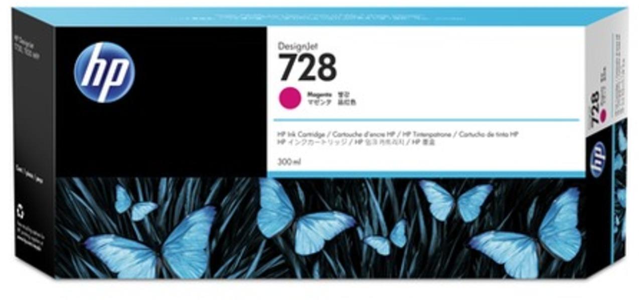 HP 728 300-ml Magenta Tintenpatrone F9K16A