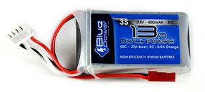 EP Product EP BluePower LiPo-Akku 11.1V 450mAh 30C EP-01-B3S45030C