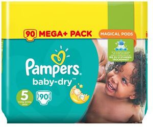 Pampers Baby Dry Mega Plus Pack 4015400834397