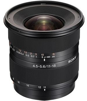 SONY A-Mount APSC 11-18mm F4.5-5.6 DT SAL-1118