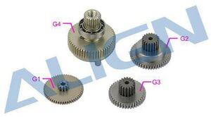 ALIGN DS825 Servo Gear Set HSP82501