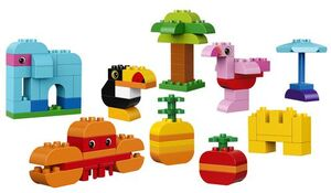 LEGO LEGO® DUPLO® Kreativ-Bauset bunte Tierwelt 10853