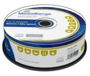 MediaRange CD-R 800MB/90Min, 25er Spindel MR221
