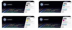 HP Toner-Set bestehend aus je 1x CF252XM + 1x CF410X = 4x 410X (CMYBK)