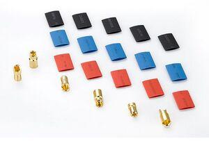 Hobbywing Goldkontakt Stecker Set 6.0mm 3 Paar HW86070020