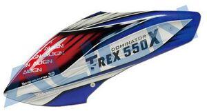 ALIGN 550X Kabinenhaube, lackiert HC5595