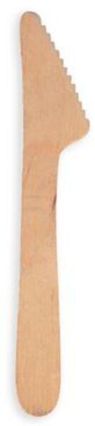 Papstar Holz-Messer pure 16.5cm PAP18200