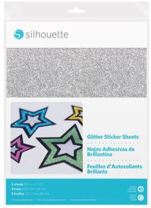 Silhouette Stickerpapier Glitter MEDIAGLTADH