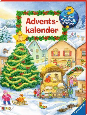 Ravensburger Wiso Weshalb Warum Adventskalender 2017 44388