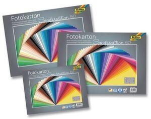 folia Fotokarton 50er Pack sortiert 61255099