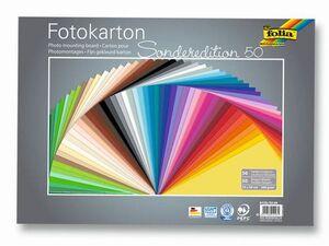 folia Fotokarton 50er Pack sortiert 61355099