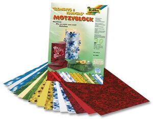folia Motivblock Elements & Flowers 4649A2