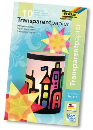 folia Transparentpapier sortiert 810A2