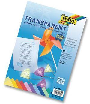 folia Transparentpapier extra stark bunt 87409
