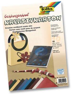 folia Kreativkarton Schlangenhaut 5012309