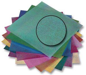 folia Faltblätter Irisierend Punkt 3115A2