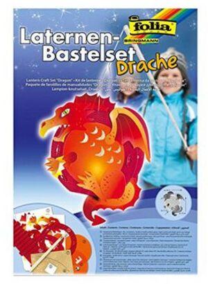 folia Laternen-Bastelset Drache 94106