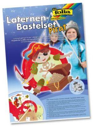 folia Laternen-Bastelset Pirat 94110
