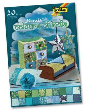 folia Motivblock India Kerala 550401