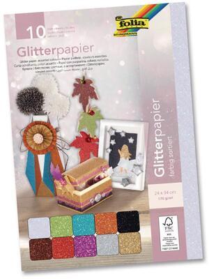 folia Glitterpapier 880409