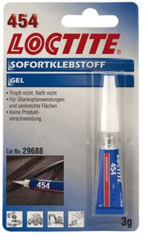 Loctite Sofortklebstoff 454 195906