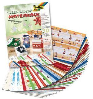 folia Motivblock Weihnachten 2 5149A2