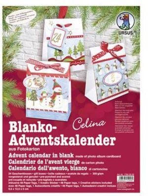 URSUS Adventskalender-Set Blanco Celina 17800002