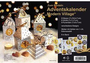Braun + Company Adventskalender Modern Village 46200002